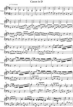 Pachelbel - Canon in D - Piano Version