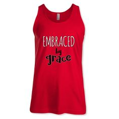 Embraced by grace Yoga Tank Top