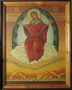 икона Божьей матери «СПОРИТЕЛЬНИЦА ХЛЕБОВ» Богородицы