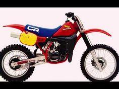 Honda Motocross Bikes 1973-2014