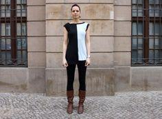 """.:: Kleid """"Kiyo"""" kurz in Gr. S und M  ::. von vonGestern auf DaWanda.com"""