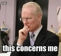 Its not good to concern Tim Gunn