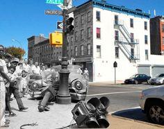 Fotografías del pasado en el presente