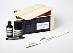 Aesop gift box - designer Magdalena Czarnecki