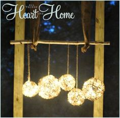 Cute & easy #DIY porch lights created by @Robin AllThingsHeartandHome ...
