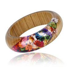 Resin Bracelet, Flower Bracelet, Resin Jewelry, Diy Jewelry, Jewellery, Resin Flowers, Tiny Flowers, Dried Flowers, Beautiful Symbols