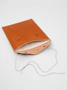 Antiatoms - Leather iPad Envelope Case • Selectism