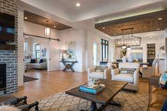 Step inside a bright and beautiful farmhouse style idea house in Idaho