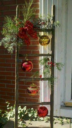 más y más manualidades: Hermosas decoraciones navideñas para exteriores