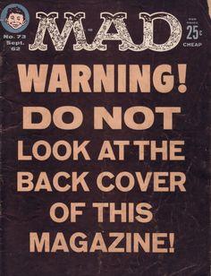 "jonasgrossmann: "" mad 1962/63/64 @ flickr """