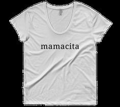 Mamacita Scoop Neck