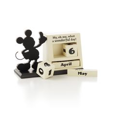 Mickey Mouse Perpetual Calendar   Anytime Desk Accessory | Hallmark · Disney  DecorationsDisney ...
