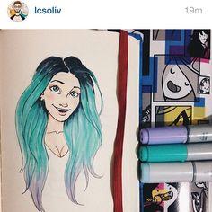 Desenho lindo do @lcsoliv