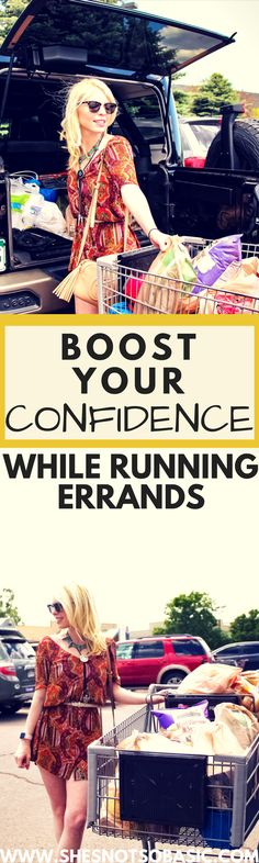 Boost Your Confidence While Running Errands, boost confidence, boost self esteem, boost self confidence, confidence boost, confidence building, how to boost your confidence while running errands, boost your confidence, feel good, self love, self esteem, errands outfit, she's not so basic