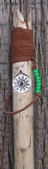 custom wood walking stick