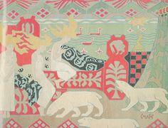 "Gerhard Munthe (Norway, 1849-1929): ""Nordlysets døtre"" tapestry"