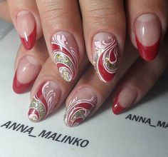 "143 Likes, 2 Comments - ANNA_MALINKO (@anna_malinko) on Instagram: ""#аннамалинко #nails #ногтики"""