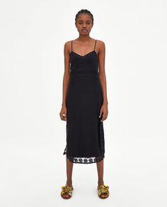 ZARA - WOMAN - LONG STRAPPY DRESS
