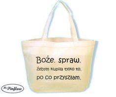 #dlazonki #niezchinzpasji - by ini zazdrościli jej torby z humorem. Niech kupuje co chce. Najwyzej bedzie jesć swoje sukienki