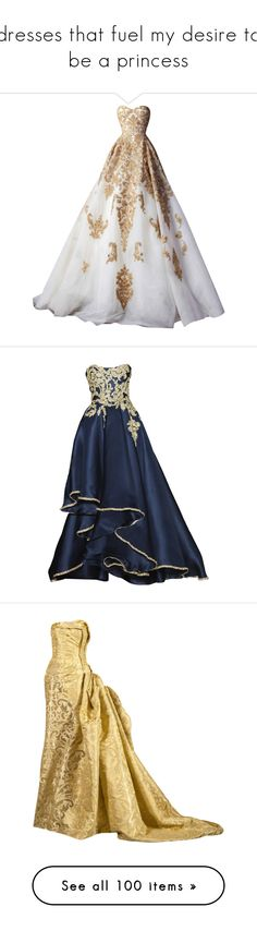 """""""dresses that fuel my desire to be a princess"""" by missherjh ❤ liked on Polyvore featuring dresses, gowns, long dresses, vestidos, blue evening dress, blue gown, long blue evening dress, marchesa, marchesa evening gowns and long dress"""