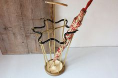 Umbrella stand / umbrella holder / walking stick holder / German original home accessory Mid-Century 50s 60s