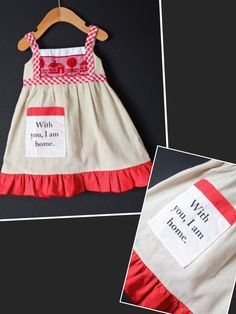 Check out this listing on Kidizen: NEW 3-6m I Am Home Dress By The Measur #shopkidizen