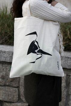 Bolsa pájaro natural, Bolsos y carteras, Bolsas