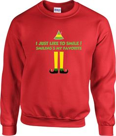 funny christmas sweater buddy the elf sweater christmas presents holiday season ugly xmas sweater elf sweater - Buddy The Elf Christmas Sweater