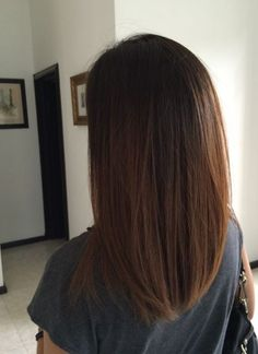 Latest Free New Totally Free Long Bob Ombre Hair Cabello Lacio Cabello Bob Cortes De Sty. Thoughts Who invented the Bob hair? Bob has been primary the league of development hairstyles for decades. Hair Day, New Hair, Super Hair, Trendy Hairstyles, Layered Hairstyles, Medium Straight Hairstyles, Hairstyles 2018, Party Hairstyles, Medium Long Haircuts