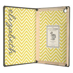 ==> reviews          	Yellow White Gray Chevron Pattern Custom Name iPad Air Case           	Yellow White Gray Chevron Pattern Custom Name iPad Air Case in each seller & make purchase online for cheap. Choose the best price and best promotion as you thing Secure Checkout you can trust Buy bestHo...Cleck Hot Deals >>> http://www.zazzle.com/yellow_white_gray_chevron_pattern_custom_name_case-256293175019969444?rf=238627982471231924&zbar=1&tc=terrest