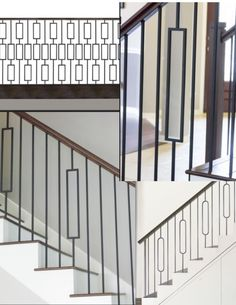 Iron Balusters Iron Spindles Iron Stair Parts CRAFTSMAN COLLECTION SATIN  BLACK