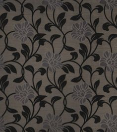 Home Decor Print Fabric-Eaton Square Lloyd Silver
