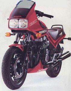 the first sport bike? the 1983 honda vf750f interceptor - classic