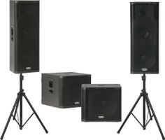 QSC KW153 / KW181 Powered Speaker Dual Sub Package by QSC. $5399.00. This kit includes two QSC KW152 Powered Speakers, two QSC KW181 Subwoofers and two sturdy Musician's Gear speaker stands.KW153 loudspeakersBuilding on the success of QSC's K Series, the 3-way KW153 active speaker, like the rest of the KW Series, represents QSC's next evolutionary step in wood enclosure loudspeakers. The system engineers created the KW Series to feature all the groundbreaking elect...