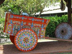 Costa Rican culture | ... oxcart, which are famously made in the Costa Rican town of Sarchí