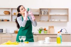 Young female contractor doing housework - Stock Photo , Natural Remedies For Gout, Detox Shakes, Young Female, Clean House, Good To Know, Weight Loss, Stock Photos, Pure Products, Potatoes Au Gratin