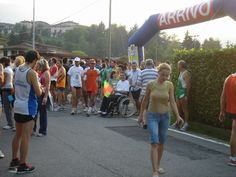 Vallio Terme a tutto sport, partenza gara del Corri & vai