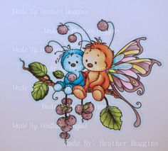 Bugs. Small Bug: BG07, BG05, BG02, BG01, BG000, BG0000 Small Bug Shell: R24, R22 Large Bug: E15, E13, E11, E53, E50 Large Bugs Wings: RV02, RV00, RV000 - Y04, Y02, Y00 - BG01, BG000, BG0000 - V95, V93, V91 Noses: E44, E43 Pom Poms: V95, V93, V91 Leaves: G99, G94, YG13, YG01 Branch: E44, E43, E42 Outline: B0000