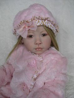 Reborn Toddler Chenoa by Jannie de Lange  - Rooted Human Hair - What a Doll !!