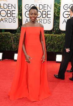 Style crush: Lupita Nyong'o at the Golden Globes 2014