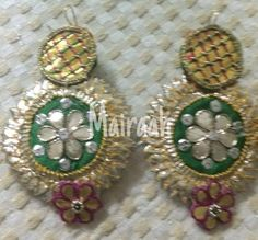 Video by Mairaah ( in New Delhi Dorset Buttons, Blouse Designs Silk, Diy Jewellery, Weeding, Wedding Jewelry, Swarovski, Fashion Accessories, Women's Fashion, Wedding Ideas
