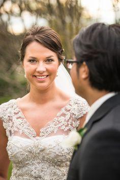 Anna Campbell Carolina Size 12 Pre-Owned Wedding Dress   Still White