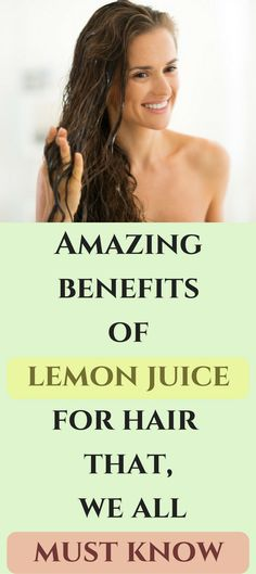 Lemon juice can be used in many different ways to tackle hair problems. Some of these ways are listed below:  ✔To Lighten and Brighten Hair Color: Today, everyone desires to dye their hair and highlight them. If you apply lemon to your hair on a daily basis, it bleaches off that part of your hair without chemical damage that chemical dyes cause. The sunlight and heat react with the citric acid to lighten a material. This helps you get mild and natural dyed hair at home. It also costs hardly…