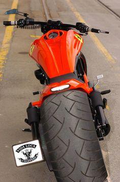 V-Rod Harley Toro Rosso Designed by Vida Loca Chopper in 2009