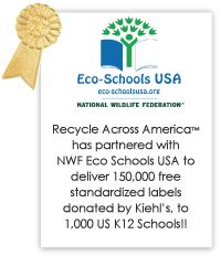We have a great partner in Recycle Across America!