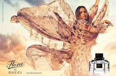 Flora by Gucci - Gucci he notes for Flora are listed as citrus, peony, rose, osmanthus, pink pepper, sandalwood and patchouli, but they don't matter too much: this is a sheer, almost-sparkling floral, very pale and clean