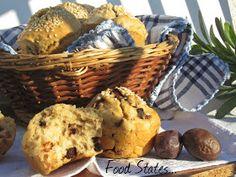 Μάφινς με ελιά (νηστίσιμα) - Food States Cupcake Recipes, Bread Recipes, Muffins, Brunch, Breakfast, Blog, Birthday, Morning Coffee, Muffin