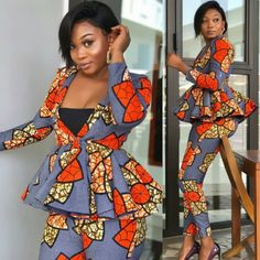 Ankara styles 2020 are one of the most gorgeous African dresses. Get latest Ankara styles and attire trending now which you can even use for Asoebi. Latest African Fashion Dresses, African Print Dresses, African Print Fashion, African Dress, Ankara Fashion, African Prints, Aso Ebi Lace Styles, Ankara Gown Styles, African Attire