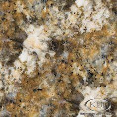 Golden Beaches Granite  (Kitchen-Design-Ideas.org)