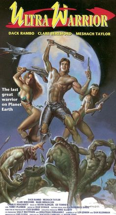 "boris vallejo "" Video art for Ultra Warrior, aka Welcome to Oblivion "" Sci Fi Horror Movies, Horror Movie Posters, Movie Poster Art, Boris Vallejo, Robert E Howard, Post Apocalyptic Movies, Comic Manga, Adventure Movies, Fantasy Movies"